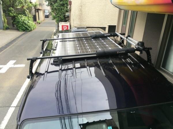 ソーラーパネルの設置① (外装編)